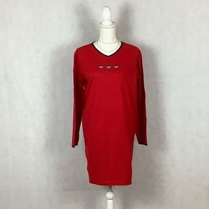 SzM Tommy Hilfiger Red Night Gown/ Pajamas